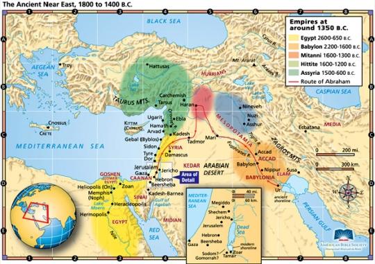 MapaIsrael
